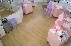 اقدام شجاعانه پرستاران در حفظ جان نوزادان حین زلزله