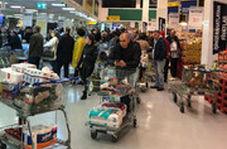 هجوم مردم ترکیه به فروشگاهها پس از اعلام قرنطینه سراسری