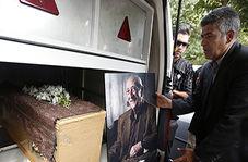 تشییع پیکر پدربزرگ خانه سبز که رهسپار خانه ابدی شد