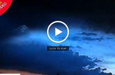 رویت یک یوفوی مرموز در آسمان مکزیک!