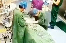 بیهوش شدن پزشک جراح در اثر ویروس کرونا در چین