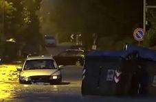 وقوع سیل و توفان مرگبار در ایتالیا + فیلم