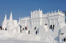 یخ هایی که گردشگران زیادی را راهی چین میکند + فیلم
