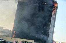 جدیدترین فیلم از آتش سوزی شدید ساختمان دادستانی کل عربستان