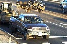 تصادف وحشتناک در بزرگراه