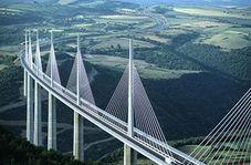 فیلمی جالب از چرخش و جانمایی سنگینترین پل کابلی جهان در چین