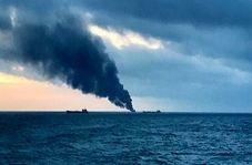 زنده زنده سوختن روی آب به خاطر انفجار در کشتی