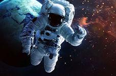 نتیجه فشار دادن حوله خیس در فضا