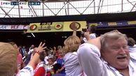 غافلگیری کودکان از اقدام تحسین برانگیز و جالب هواداران یک تیم فوتبال