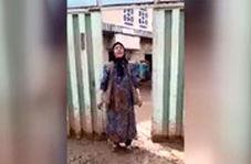 گلایههای یک زن سیلزده: میخوام پیاده برم تهران!