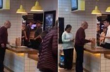 واکنش غیرمنتظره مرد گیاهخوار به سرو گوشت در رستوران!
