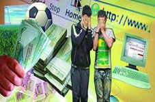 دستگیری اعضای باند شرط بندی فوتبال توسط پلیس فتا + فیلم