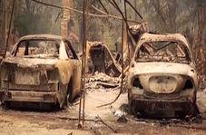 مرگ شش نفر بر اثر آتش سوزی در کالیفرنیا
