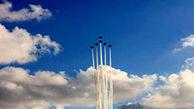 قدرت نمایی جنگندههای ایرانی در نمایشگاه هوایی کیش