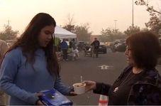 زندگی عجیب آوارگان آتشسوزی کالیفرنیا در چیکو