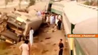 حادثه مرگبار قطار در پاکستان