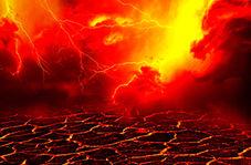 غرش بیسابقه زمین پس از فوران کوه آتشفشان آتنا + فیلم