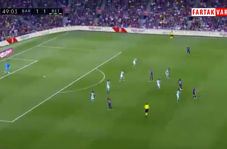شوت دیدنی گریژمان؛گل دوم بارسلونا به بتیس