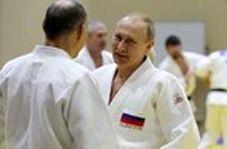 تمرینات جودوی پوتین در ۶۶ سالگی!