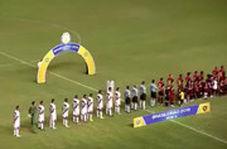 اتفاق عجیب وسط پخش سرود ملی در برزیل