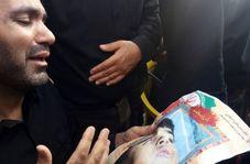 نالههای پدر شهید خردسال حادثه تروریستی اهواز!