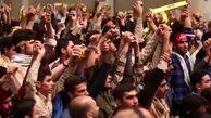 همخوانی حماسی دانشآموزان با حسین طاهری در دیدار با رهبر انقلاب