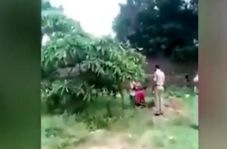 دستگیری پدر حین زنده به گور کردن فرزندش!