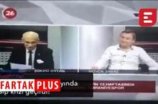 حمله قلبی مجری حین پخش زنده تلویزیونی!