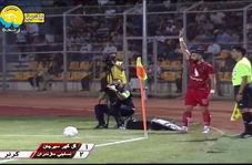 اولین گل لیگ برتر نوزدهم توسط نساجی مازندران