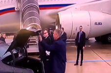 محافظت عجیب محافظان از رئیس جمهور روسیه