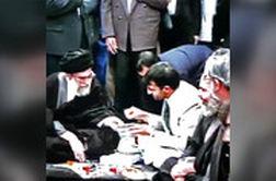فیلم منتشرنشده از افطاری در حضور رهبر انقلاب در بیت رهبری