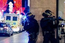 اولین فیلم از حمله تروریستی در استراسبورگ فرانسه