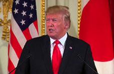 ترامپ در توکیو: واشنگتن به دنبال تغییر رژیم در ایران نیست