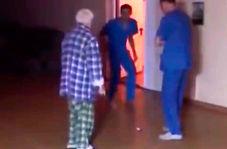 رفتار ناجوانمردانه پرستاران بیمارستان روانی با بیمار سالخورده
