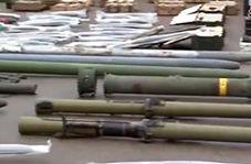 پهپاد جاسوسی تروریستها در درعا کشف و ضبط شد