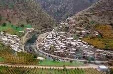 طبیعت پاییزی و رنگارنگ در روستای دلمرز در مریوان+ فیلم