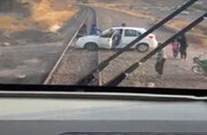 ترمز به موقع قطار برای جلوگیری از یک فاجعه