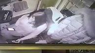 تصادف دو تراموا به دلیل پیامک دادن راننده زن + فیلم