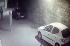 سرقت شبانه پلاکهای خودرو در بندرانزلی!