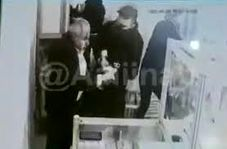 حمله وحشیانه دو سارق به طلا فروشی در اسلامشهر