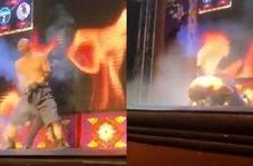 اشتباه عجیب یک بازیگر سیرک حین نمایش