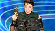 شادی و هیجان برنده اسکار بهترین بازیگر زن