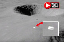 کشف مخفیگاه فرازمینیها روی ماه!
