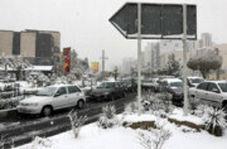 زیباییهای بارش برف در تهران