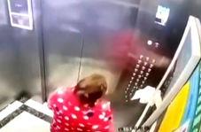 دستگیری یک زن مشکوک به کرونا پس از آب دهان انداختن در آسانسور