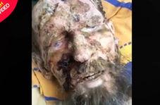 پیدا شدن مرد روس در مخفیگاه خرس قهوهای!