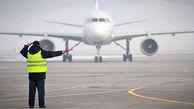 حرکات موزون راهنمای پرواز در فرودگاه