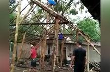 اشتباه کوچکی که به ریزش اسکلت یک خانه منجر شد