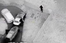 تعقیب یک قاچاقچی با دوربین دید در شب