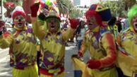گردهمایی بزرگ دلقکها در مکزیک